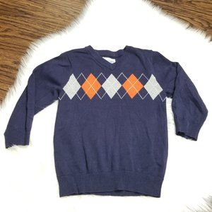 The Childrens Place | Argyle Pullover Sweater Top